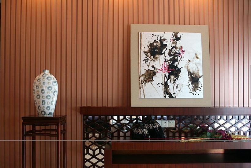 浅谈中式设计风格住宅陈设古典红木家具的搭配原则