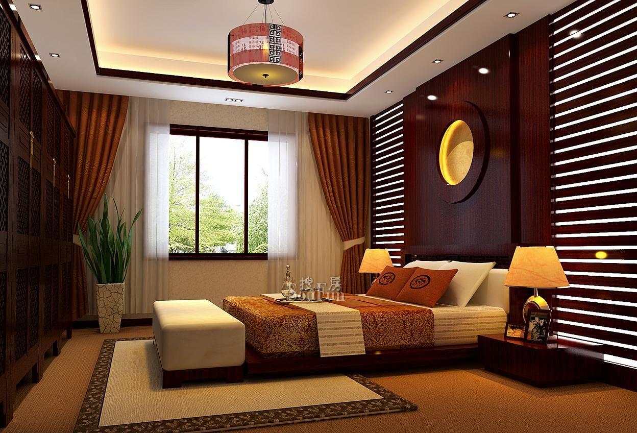 中式装修卧室摆放哪些植物可以住人增强财运