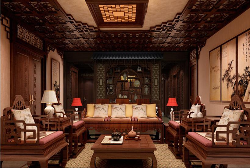 中式装修首页 中式家居 中式设计      第三,客厅之内的装修风格其实图片