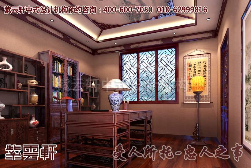 红木家具彰显了中式装修家居的古韵与时尚