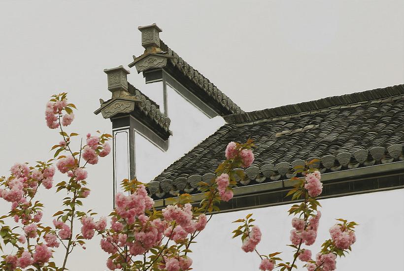 中式徽派建筑