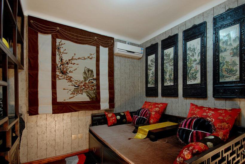 居室中式装修中关于字画摆放应注意的事项