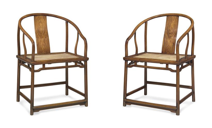 为您精选了古典红木家具四种不同样式的圈椅
