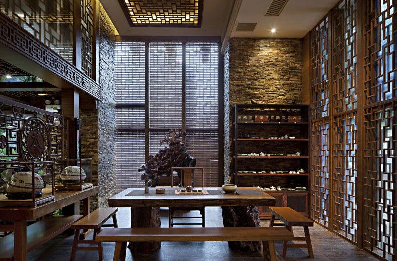不同样式的中式装修茶楼需要的装修设计方法