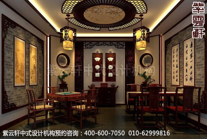 什么样的颜色才能把中式装修餐厅打扮的温馨怡人