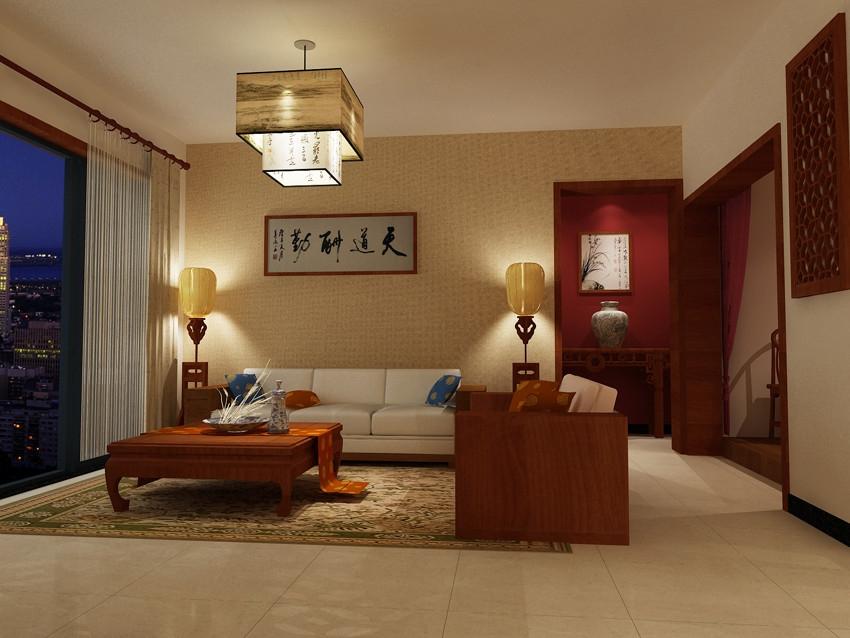 用厚重的古典填充现代浮华的新中式风格家居