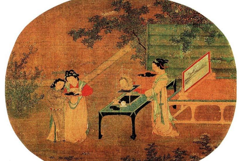 画中有器—浅析中国古画中里古典家具风格演变