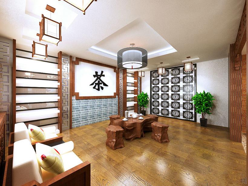 现代中式茶楼装修设计需要注意的三个细节