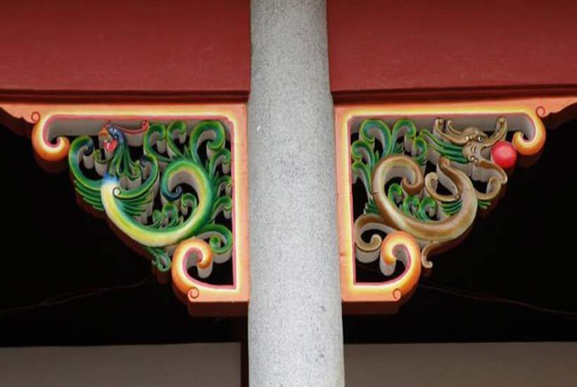 """最能代表中国古建之魂""""雀替""""的雕刻艺术"""