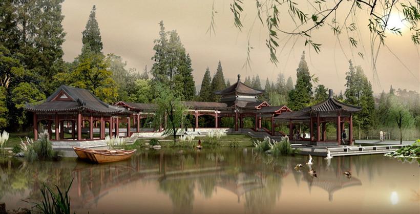 古典园林景观布局在现代园林设计中的应用