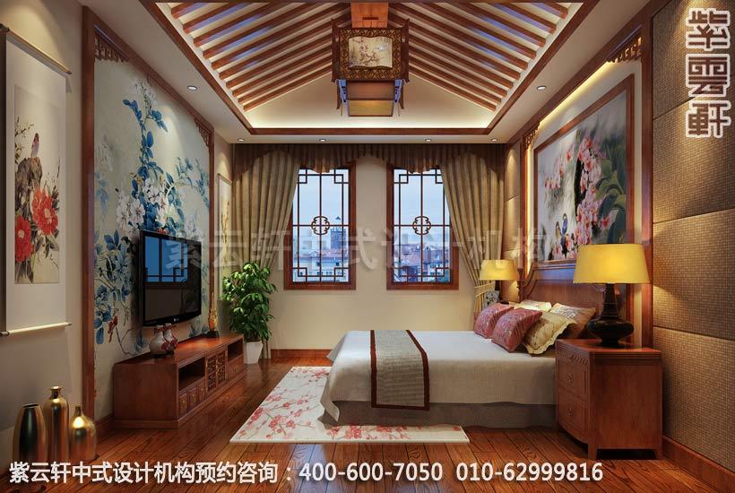 古典风格老人房中式别墅