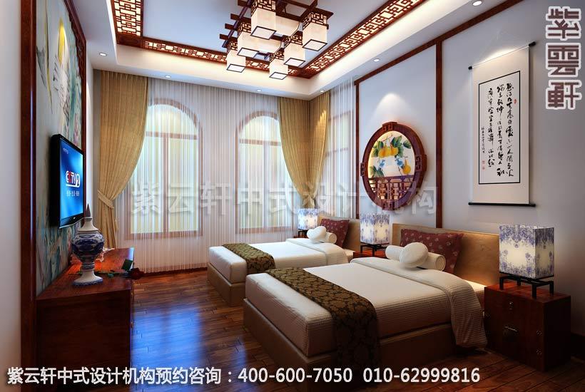 男孩房古典中式风格别墅