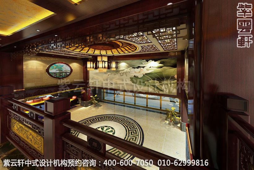 酒店大厅古典中式装修