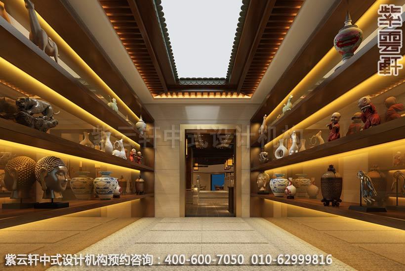 茶餐厅过厅简约中式设计效果图