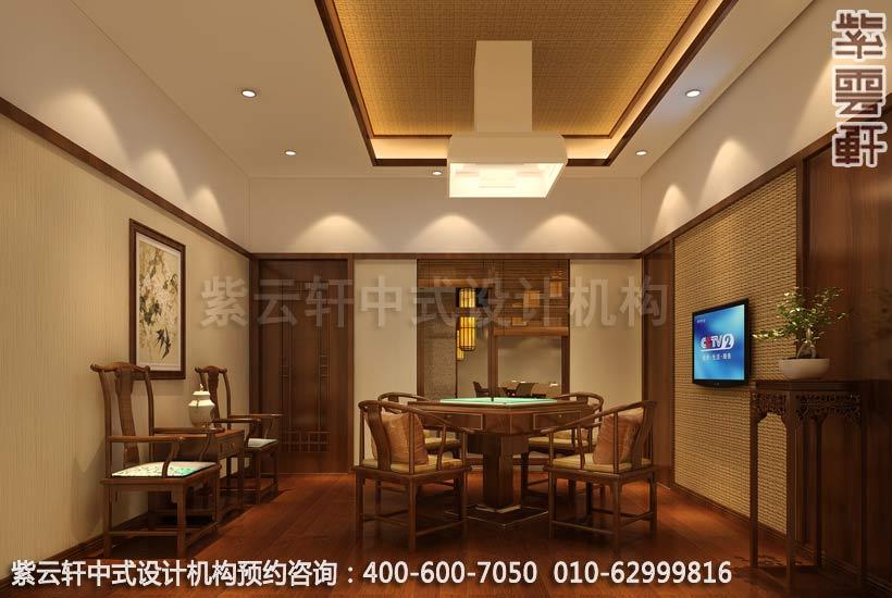 玉锦湾茶餐厅简约中式设计效果图欣赏 清新简约高清图片