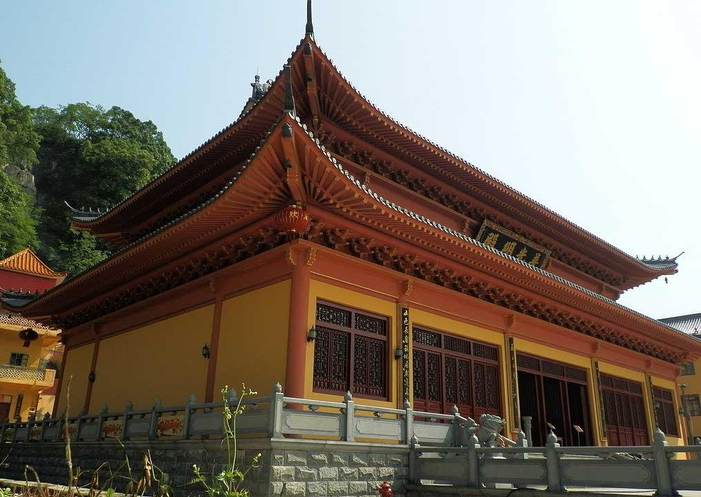 古寺禅房阐述着禅隐大道,古寺中式装修的意境