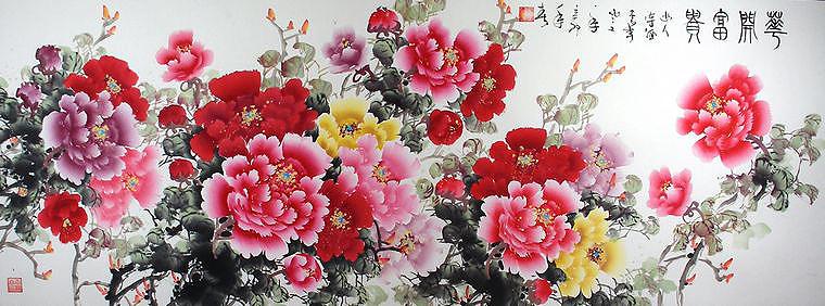 中式装修住宅风水之字画篇
