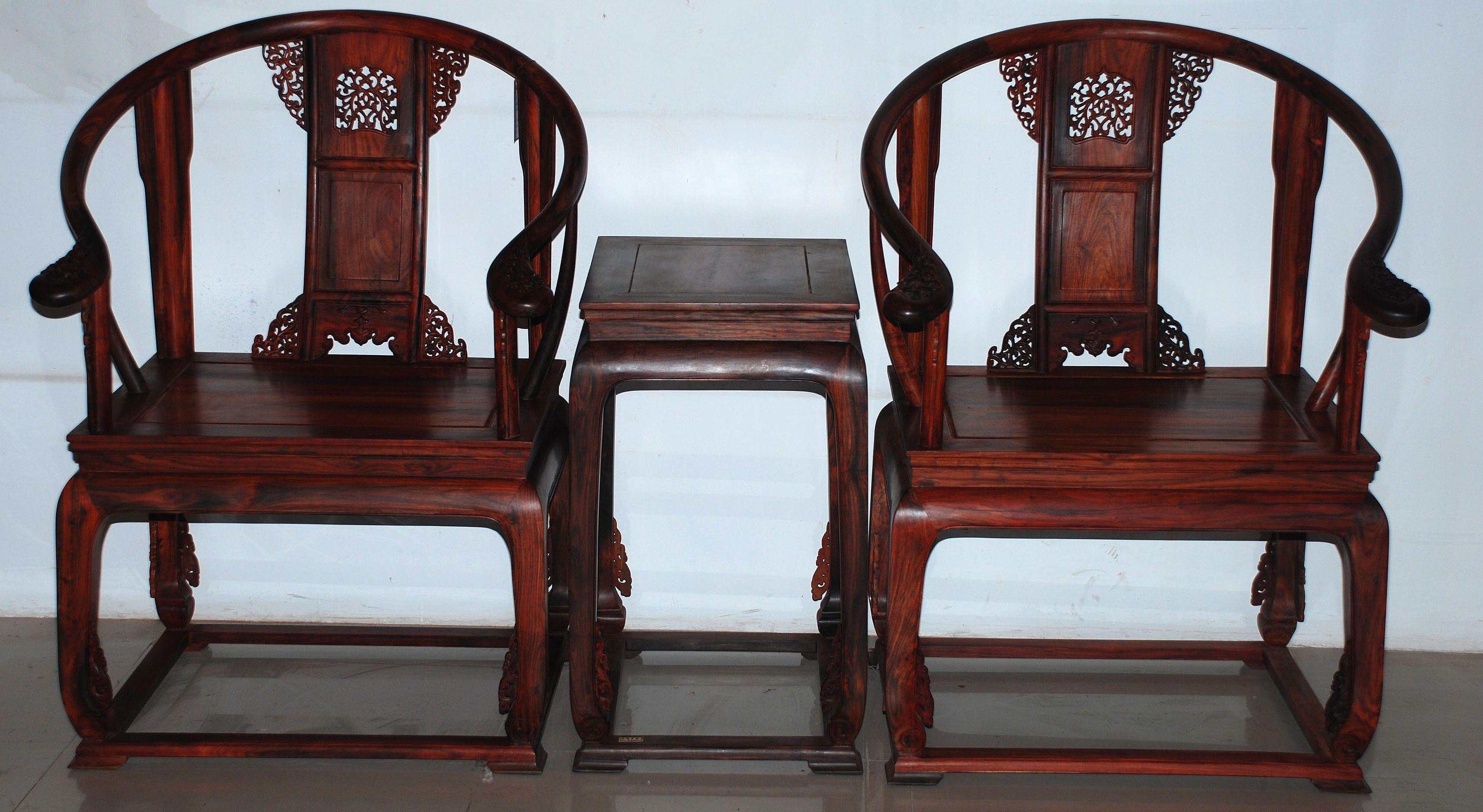 值得你一生呵护收藏的家居珍品 红木家具金丝楠木皇宫椅鉴赏