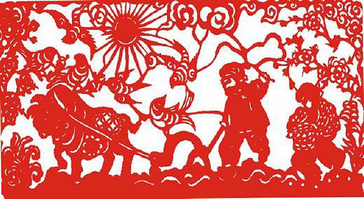 民间的传统手工艺术 中国剪纸艺术