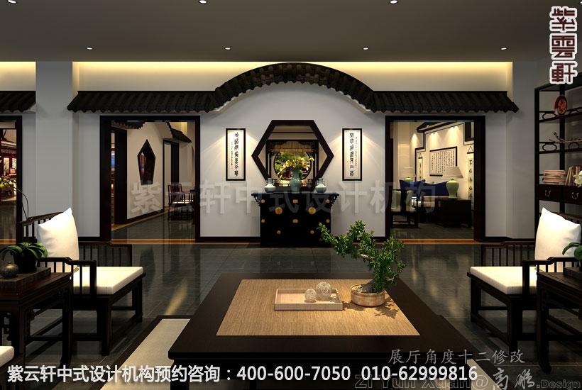 展厅中式装修 设计师需要重视的中式设计元素