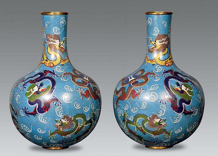 天球瓶有哪些工艺特点具有哪些收藏价值