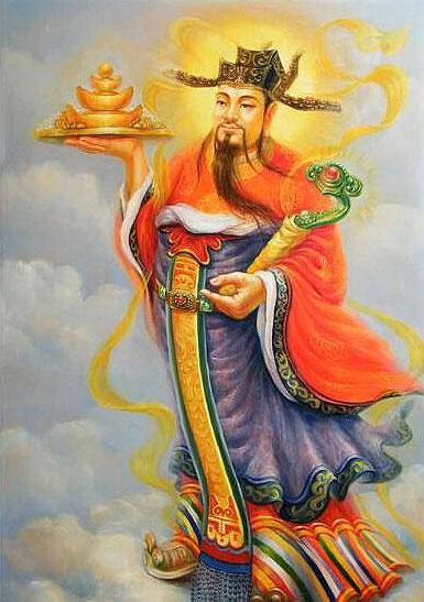 中式传统文化四大财神助住宅财运不断