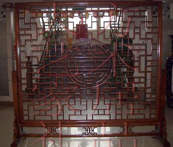 屏风在中式装修风格表达出东方新的精神境界