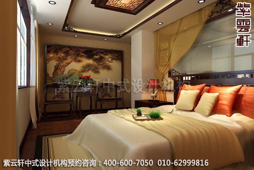 利用风水原理,合理搭配中式装修卧室