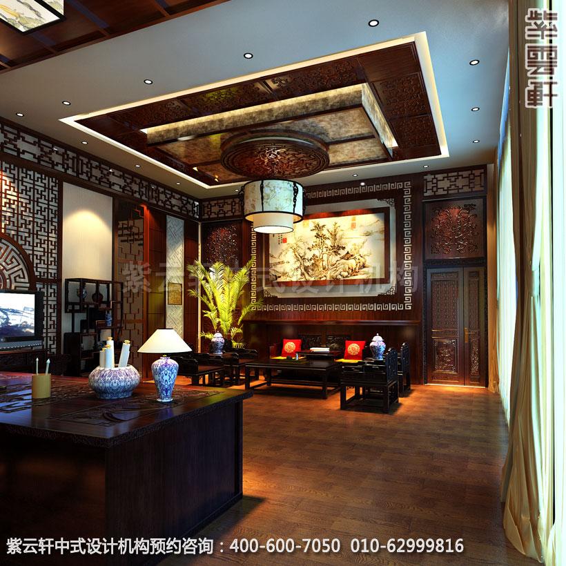 中式装修办公室装修三大风水原则要注意