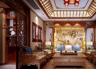 南京丁总古典中式设计别墅案例—春复苏后的暖意