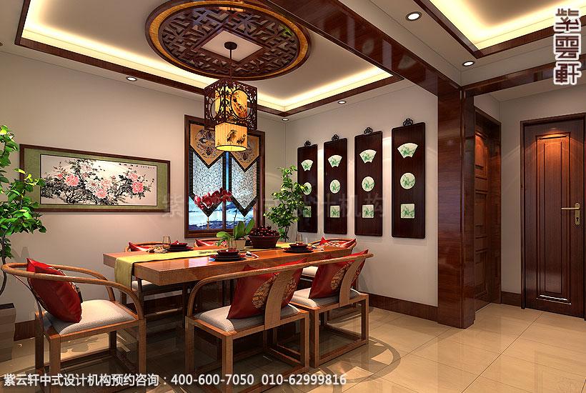别墅现代中式装修茶区