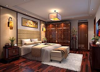 北京大兴现代中式别墅装修效果图,演绎最恰当的时尚优雅