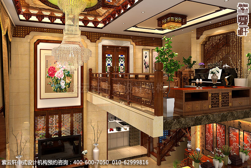 中式设计遵循四个原则构筑雅致生活环境