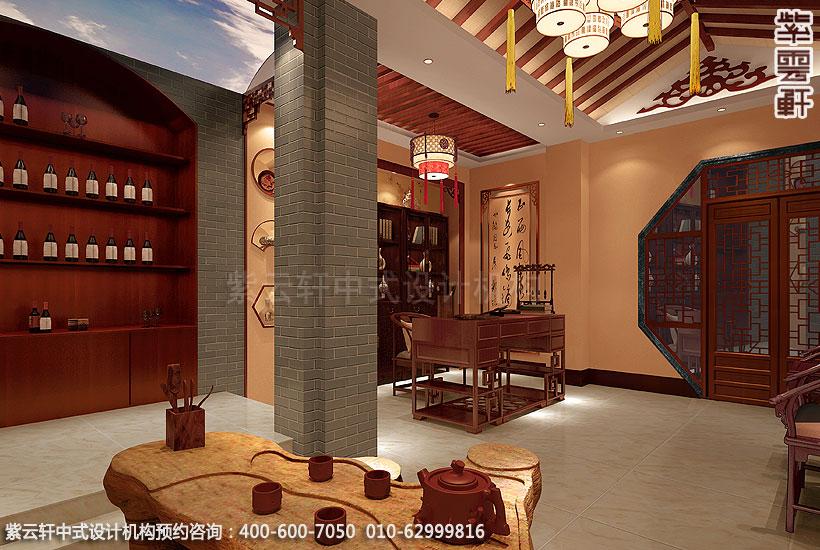 简约中式装修复式住宅书房