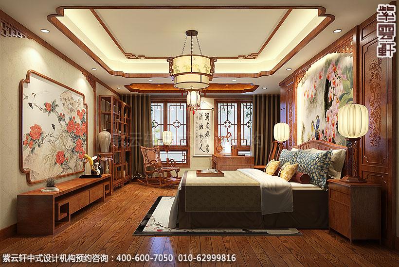北京玉泉路曹先生精品住宅现代中式装修主卧