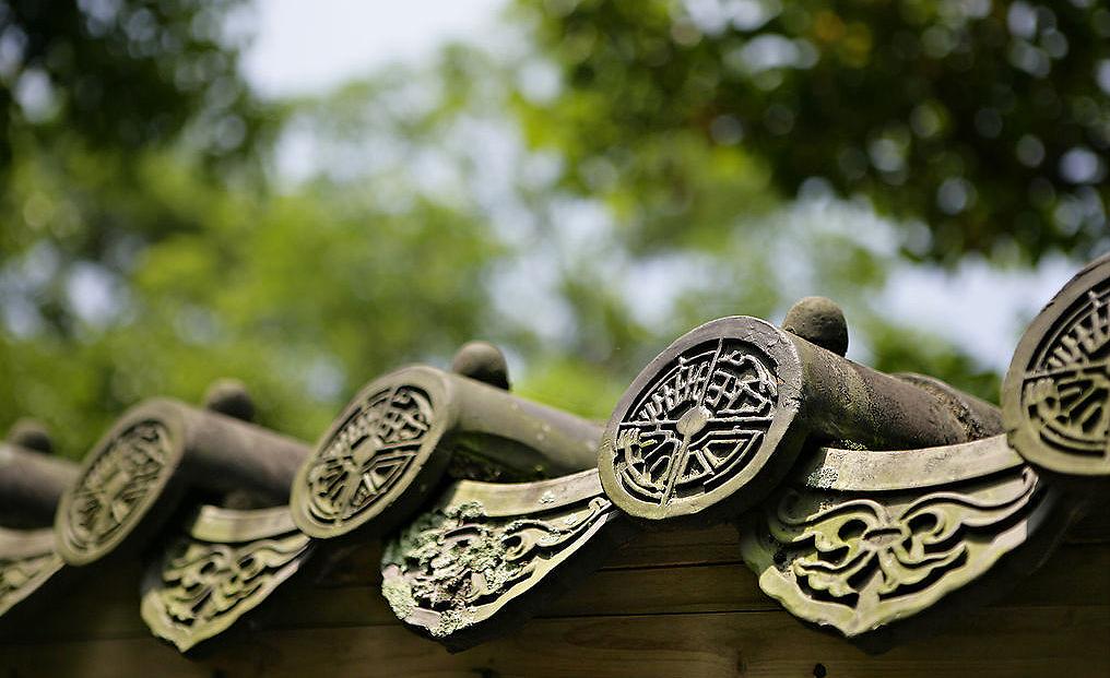 """""""瓦当""""在中式装修中经历千年风雨 仍朴实大美"""