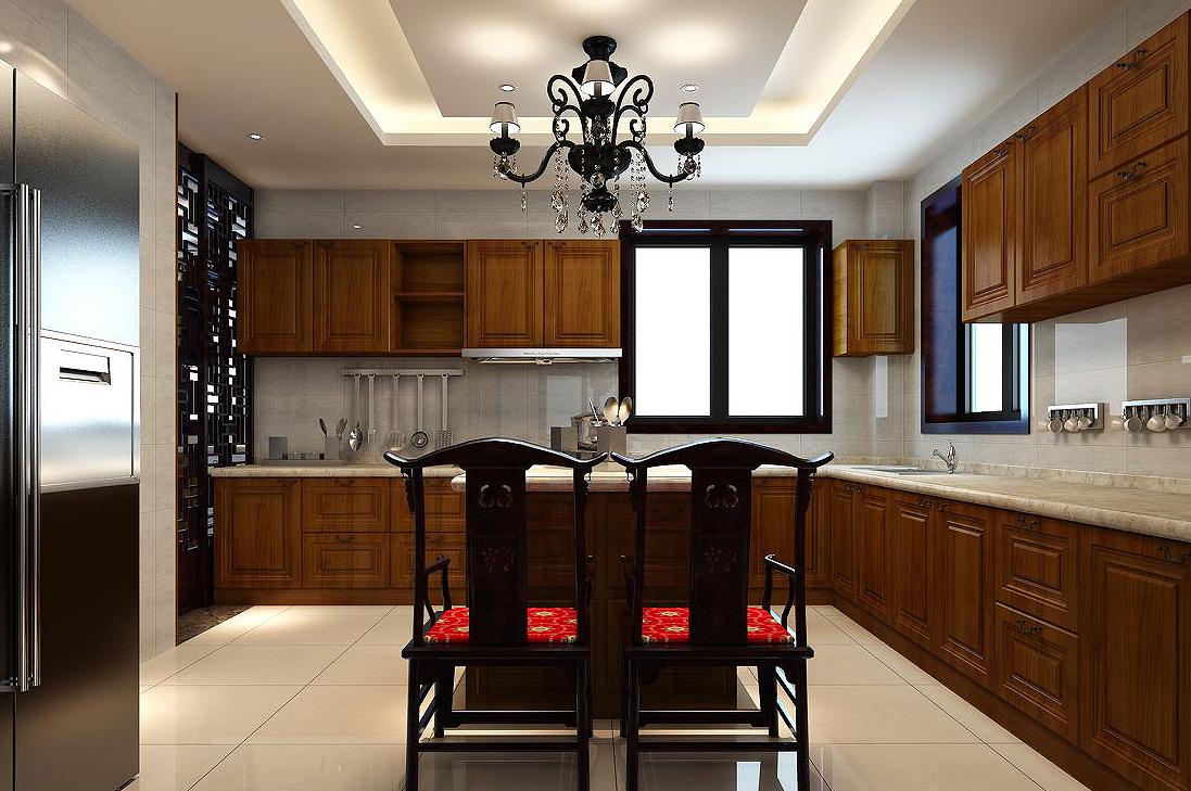 中式装修厨房风水摆设也不能马虎大意