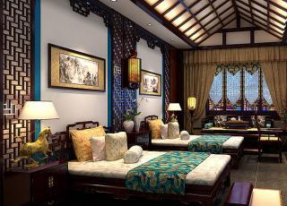 贵州古镇高档酒店古典中式设计案例-享受如梦如幻的生活境界