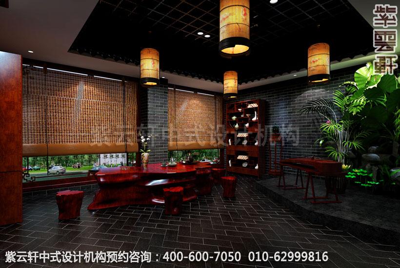 利用中式设计的文化魅力为茶楼来吸引顾客