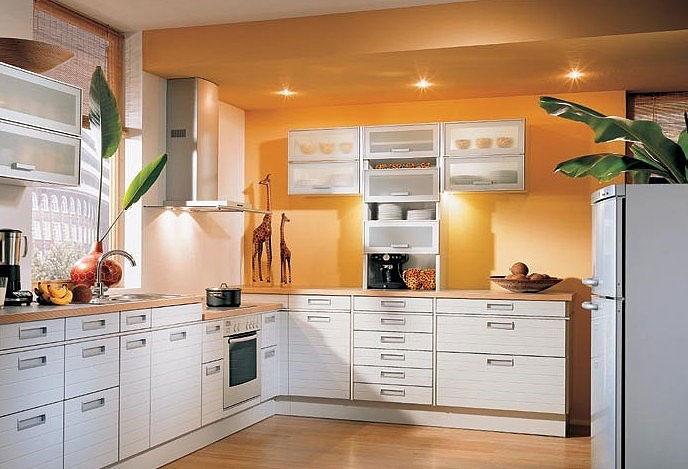 中式厨房装修内盆栽植物应该如何摆放