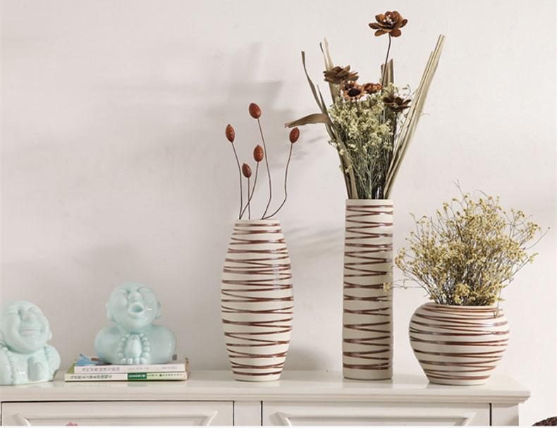 中式配饰创意陶瓷摆件 线条优美典雅别致