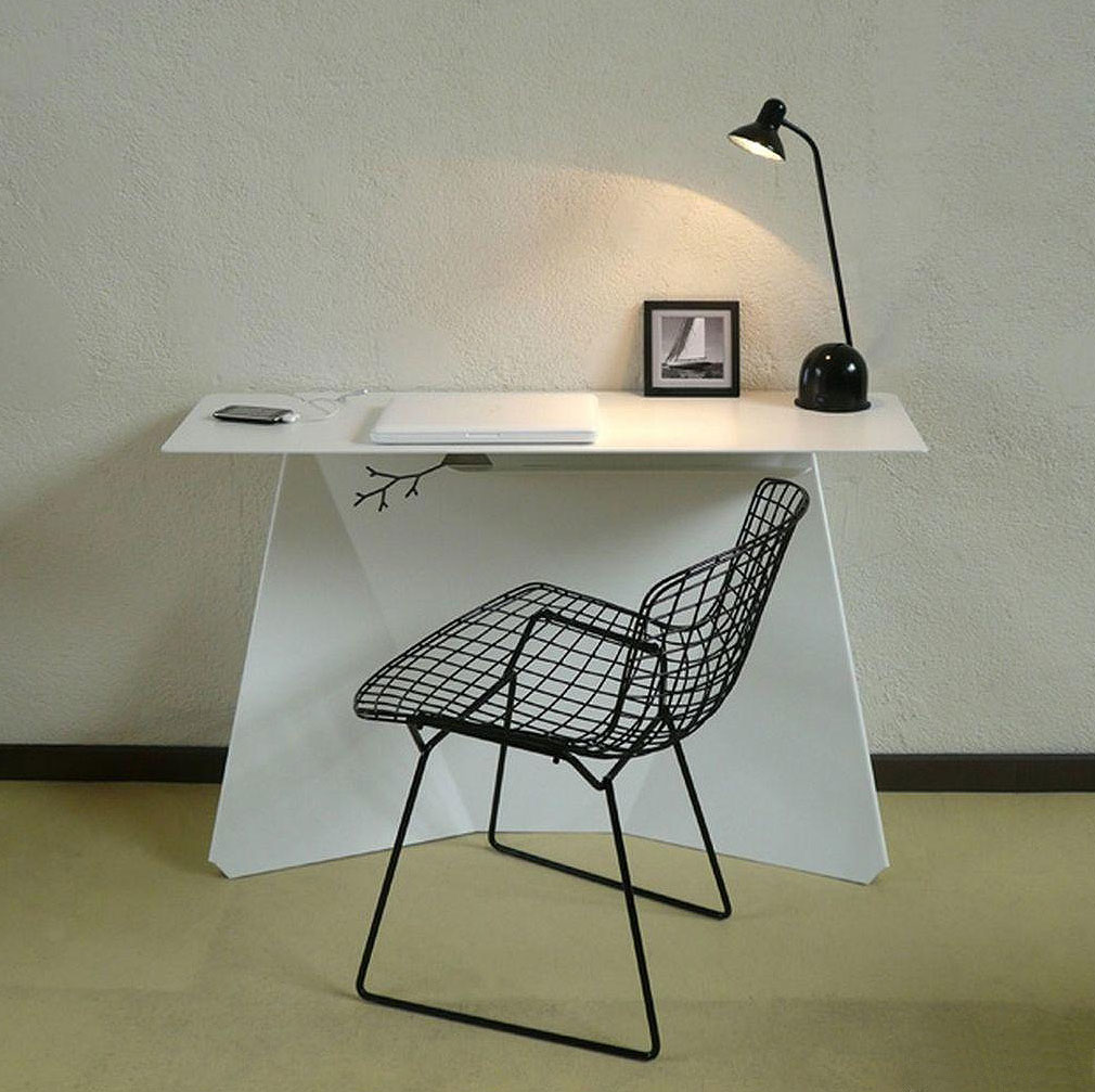 简约书桌用宁静、诗意点缀你的中式生活