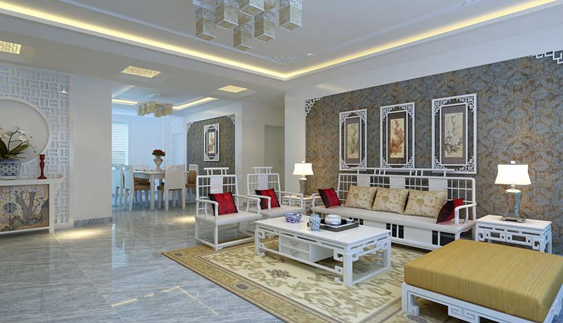 承袭两种风味的新中式装修风格家居配饰该如何选择