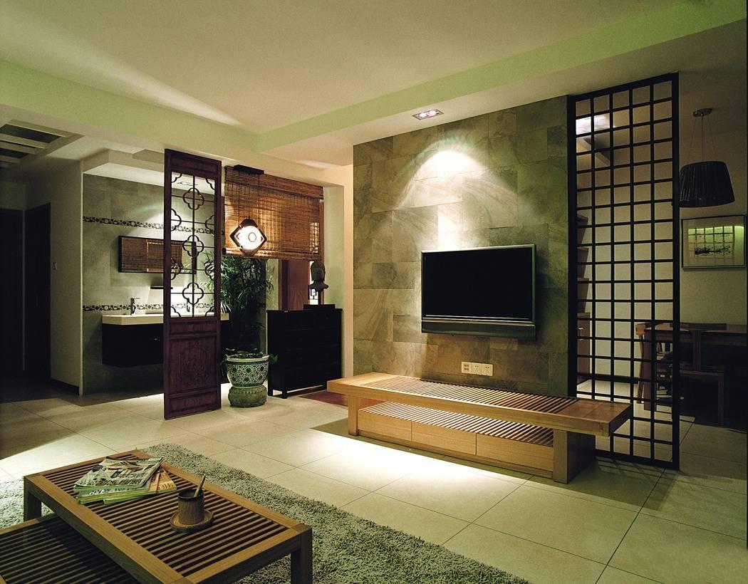 从7个方面选择中式装修客厅背景墙的壁纸