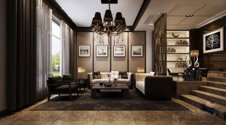 中式装修别墅的灯具该如何选择与悬挂