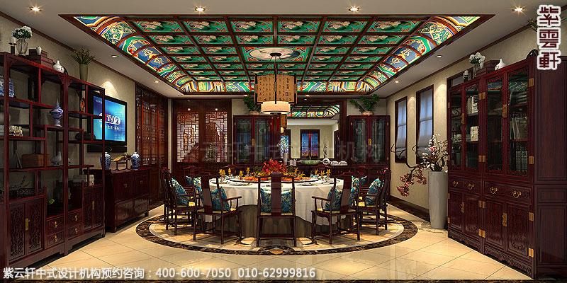 中式装修餐厅空间选择怎么样的壁纸比较好