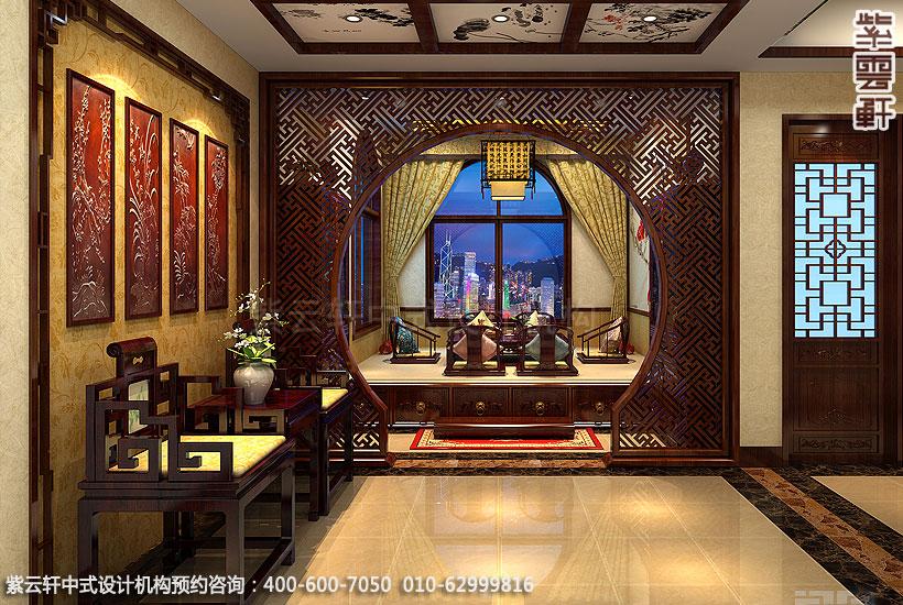长沙古典中式装修别墅