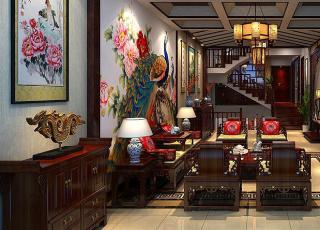 北京方庄复式楼新中式装修案例 雍容的清秀雅居