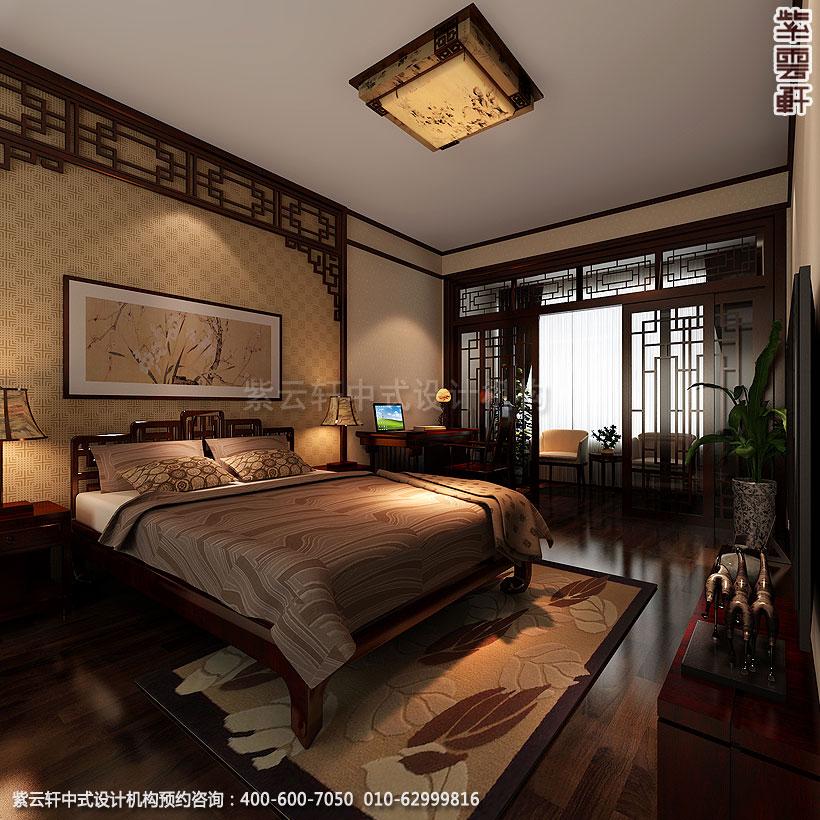 北京简约中式装修精品住宅卧室