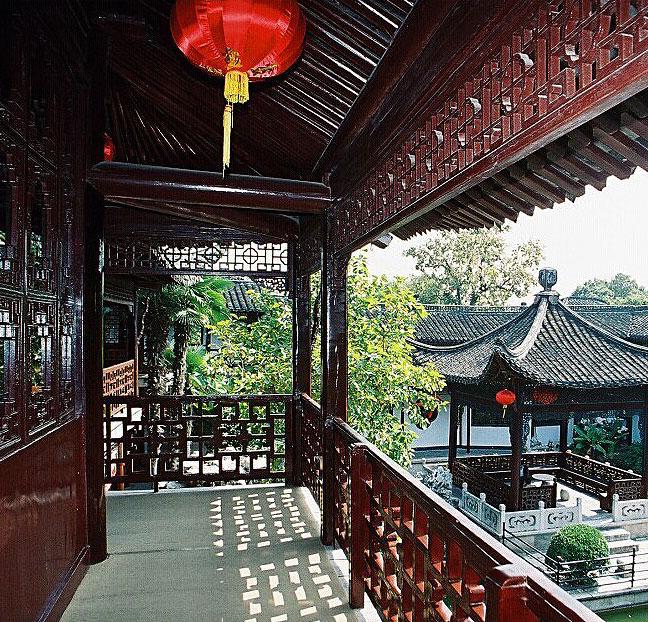 江南风格园林2